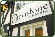 Cornerstone Bed and Breakfast - Outside